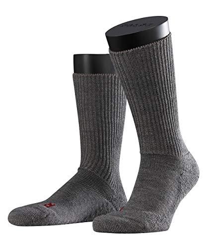 FALKE Unisex Socken Walkie Ergo U SO -16480, 1 Paar, Grau (Graphit Melange 3060), 39-41