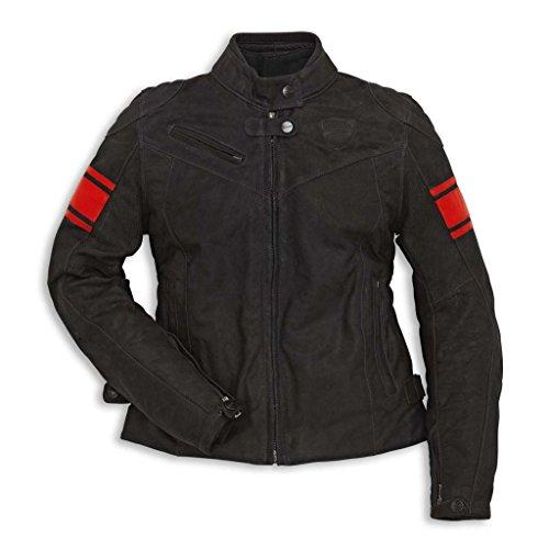 Ducati 981028650 Classic C2 Leather Women's Riding Jacket - Size 50