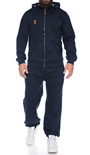 Finchman Finchsuit 1 Herren Jogging Anzug Trainingsanzug Sportanzug FMJS135, Darkblue, XL
