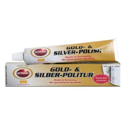 Autosol 01001050 Politur Shiny Gold/Silber