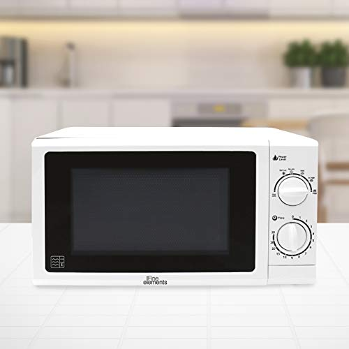Fine Elements Manual Microwave with 5 Power Levels (800W Power) 20L Capacity and Plain Door Window with Painted Cavity…