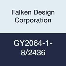 Falken Design GY2064-1-8/2436 Acrylic Gray Smoked Sheet, Transparent 29%, 24