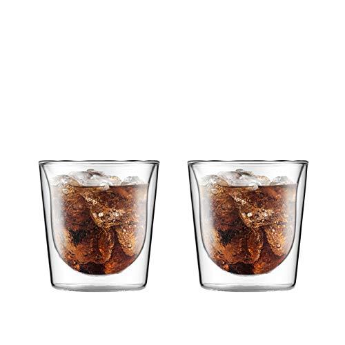 BODUM ボダム SKÅL スカル ダブルウォール グラス 200ml 2個セット 【正規品】 10593-10J