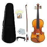 Violín Color Natural Brillante 4/4 Violín Abeto Top Arce Material Violín Instrumento