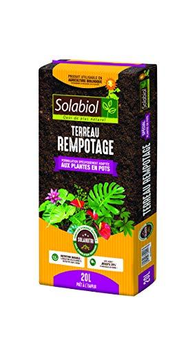 Solabiol TERREAU REMPOTAGE 20 litres TEREMPO20