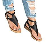 Ladies 2021 New Wedge Comfy Sandals, Summer New Plus Size Women's Zipper Round-Toe Wedge Sandals,Beach Casual Shoes Shallow Fashion Sandals