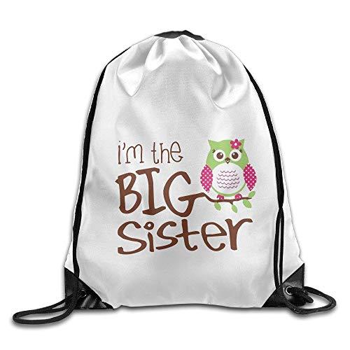 Jiger Drawstring Bags Gym Bag Travel Backpack, Floral Pattern, Large Drawstring Backpack for Teen Kids