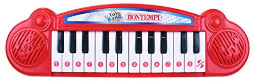 Bontempi 12 2405 Elektronik-Keyboard, Mehrfarben