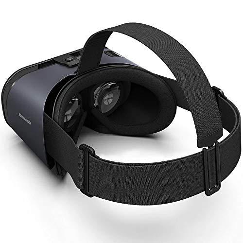 Homido Prime - 3D-Virtual-Reality-Headset, kabellos, austauschbares Schaumpolster, angenehmer Tragekomfort, Smartphone-Zubehör, völliges Eintauchen garantiert, für einen langen Gebrauch geeignet