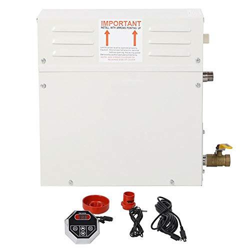 EU 220V Digitalanzeige CON4 Regler 6KW Edelstahl Elektro-Saunaofen Nass- und Trockendampfbad Saunaofen mit Hochtemperaturschutzschalter Saunaofen
