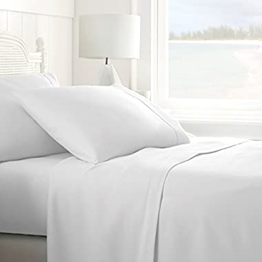 ienjoy Home 4 Piece Sheet Set Queen White