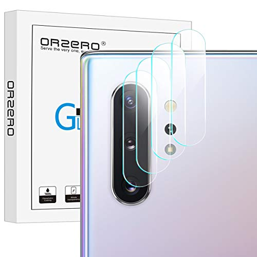 NEWZEROL 4 Stück Kompatibel mit Samsung Galaxy Note 10/Note 10+/Note 10 Plus 5G Kamera Flexibles Panzerglas Schutzfolie 2.5D Arc Edge High-Definition Glasschutzfolie Klar
