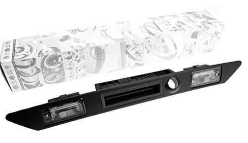Original Audi Griffleiste Heckklappe Öffner Taster Schalter Heckschloß Kennzeichenleuchten mit Schließzylinder