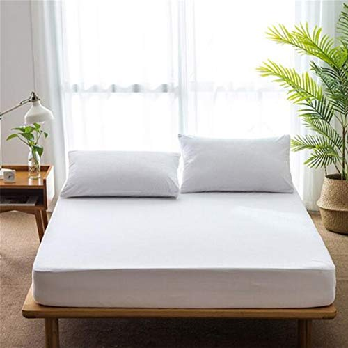 FYZS Waterproof Mildew Mattress Cover Anti-mite Hypoallergenic Mattress Cover Washable - Multiple sizes (Size : 100x190 20cm)
