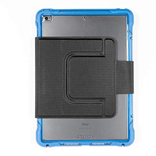 OtterBox UnlimitEd SERIES Case with Folio + Screen Protector for iPad 8th & 7th Gen (10.2' Display) - Bulk Single-pack (1 unit) - Clear/Blue