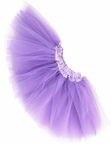 Buenos Ninos Girls Tutu Assorted Colors (Lanvender) One Size