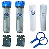Lead Removal Whole House Water Filter Multi-Pack...