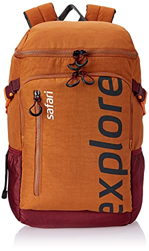 Safari 39.27 Ltrs Orange Casual/Travel Backpack (Explorer 20 HY ORN)