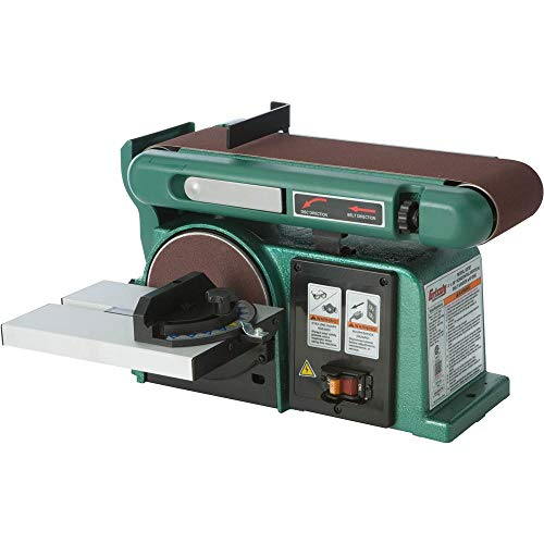 Grizzly Industrial G0787 - 4' x 36' Horizontal/Vertical Belt Sander with 6' Disc
