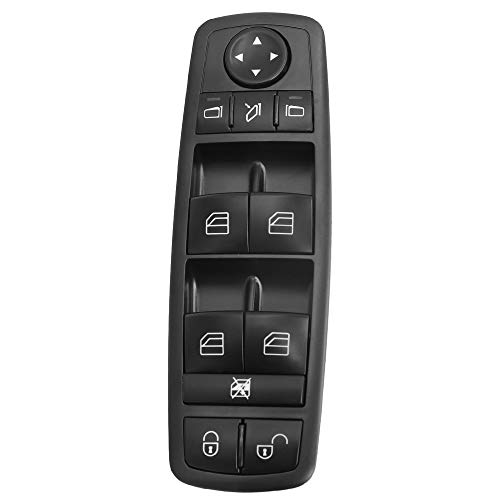XIWEIG Interruptor De Ventana Maestra Eléctrica/Ajuste para -Mercede-Benz B-Klasse W245 W169 A-KLASSE R350 GL350 GM450 / A 169 820 67 1698206710