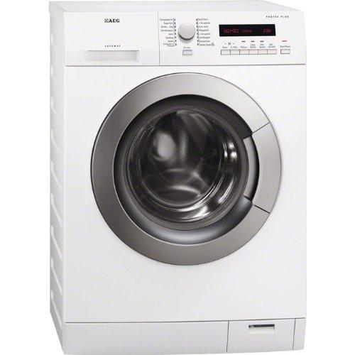 AEG LAVAMAT L77484AFL Waschmaschine Frontlader / A+++ A / 1400 UpM / 8 kg / ProTex Plus / OptiSense-Waschsystem