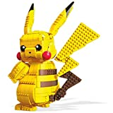 Mega Construx Pokemon Pikachu da 30,5cm Personaggio da Costruire con più di 825 Mattoncini, Giocattolo per Bambini 8+Anni, FVK81