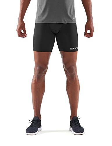 Skins Herren Half Tights DNAmic Force Mens 1/2 Tights Black M, Black, M, DF00010029001M