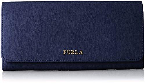 Furla Babylon Xl Bifold - Portafoglio da donna, Blu (Blu navy.), 19x9x2 cm (B x H x T)