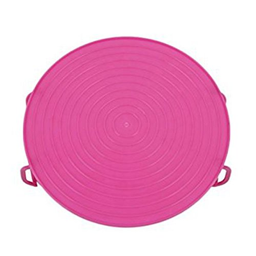 SODIAL Multifonctions combo micro-ondes double isole bol outil de cuisine - Rose rouge