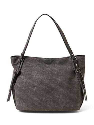 TOM TAILOR Damen Taschen & Geldbörsen Shopper Malena grey,OneSize