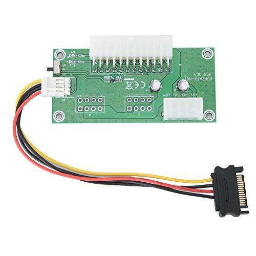 Taidda- con módulo de Fuente de alimentación de compatibilidad con indicación LED, módulo de alimentación ATX24PIN, para Sistema Winxp Mac