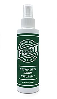 Natural Shoe Deodorizer & Gear Spray - Foot Odor Eliminator - Eliminates Smells Naturally Use on Stinky Shoes Gear Smelly feet and Household Odors Made in USA