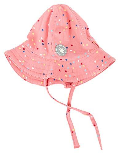 Sigikid Mädchen, Baby Mütze, Rosa (Geranium Pink 606) , 38/40