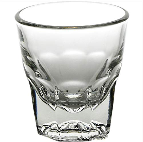 ZPEE Vasos de Vidrio Modernos Taza de café Blanco Taza de Latte Taza Transparente Juego de Vasos de Vidrio