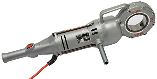 RIDGID 41935 Model 700 Hand-Held Power Drive, 26-30 RPM Pipe Threading Machine Only,Silver,Small