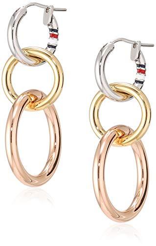 Tommy Hilfiger Jewelry Mujer acero inoxidable Pendiente colgantes 2701090
