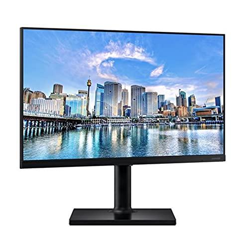 Samsung Ecran PC Professionnel 24'' Série T45F Noir, Dalle IPS, Full HD (1920x1080), HDMI, Display Port, USB, Pied HAS et Fonction Pivot
