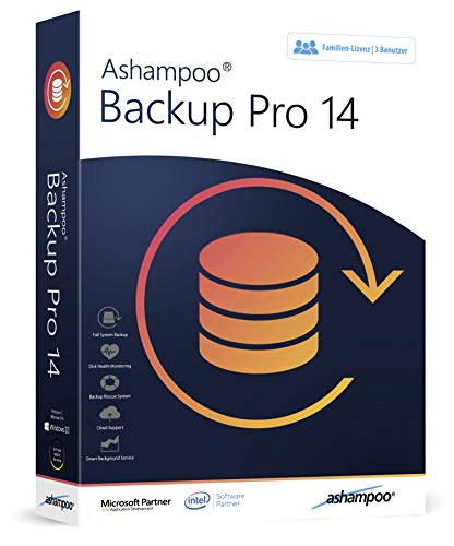 Backup Pro 14 - 3 USER - Datensicherung Programm für Windows 10, 8.1, 8, 7, Vista