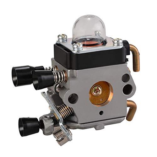QIUXIANG Carburador de carbohidratos en Forma for STIHL FS38 FS45 FS46 FS55 FS74 FS75 FS76 FS80 FS85 Trimmer