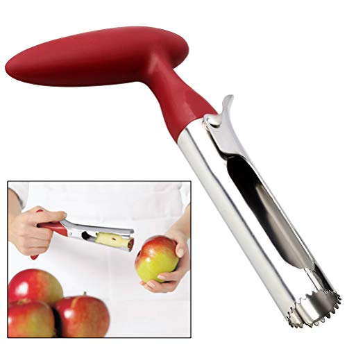 pengxiaomei Stainless Steel Corer, Fruit Corer Apple Corer Pear Core Remover for Home & Kitchen