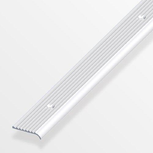 Rund-Abschluss-Profil gerillt, gelocht,6x25mm in versch. Varianten