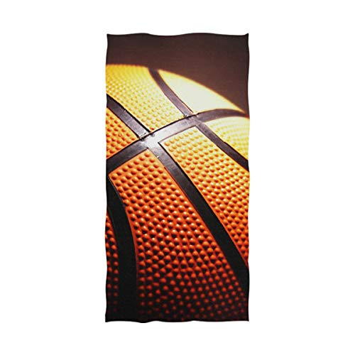 DEZIRO NBA - Toalla de baño para Yoga, diseño de Baloncesto