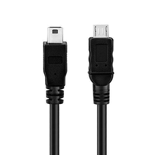 conecto CC20034 OTG-Ladekabel, Micro-USB-Stecker auf Mini-USB-Stecker, 0,50m