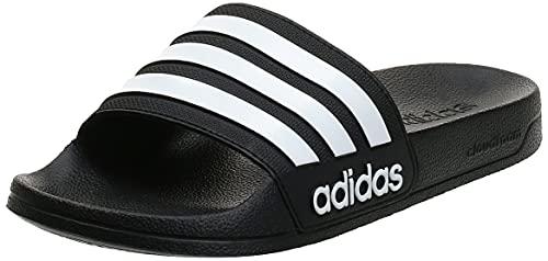 Adidas Adilette Shower, Herren Dusch- & Badeschuhe, Schwarz (Core Black/Footwear White/Core Black 0), 42 EU