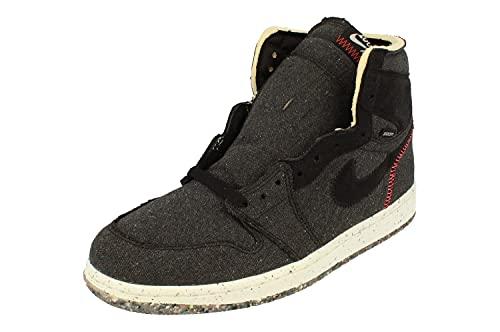 Nike Air Jordan 1 High Zoom Sh, Scarpe da Basket Uomo, Black/Flash Crimson-Wolf Grey, 44 EU