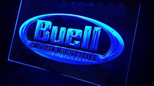 Buell Leuchtschild LED Neu Schild Laden Reklame Neonschild show Harley