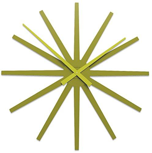 CalleaDesign 81 cm Frisottis Horloge Murale Vert Olive
