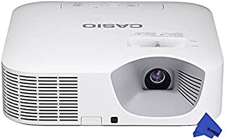 Casio XJ-V10X DLP Hybrid Light Source Portable Projector with Cloth (3,300 Lumens)