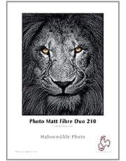 Hahnemühle Photo Mate Fibre Duo Papel, 210g/m², color blanco, color naturweiß 297 x 420 mm