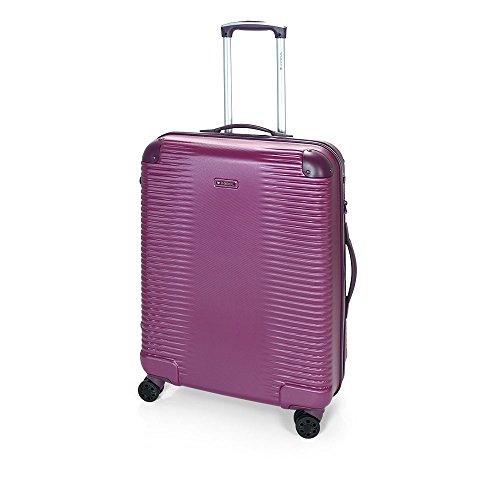 Gabol - Balance | Maletas de Viaje Medianas Rigidas de 47 x 66 x 25 cm con Capacidad para 55 L de Color Ciruela